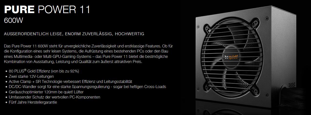 beQuietPurePower11W600